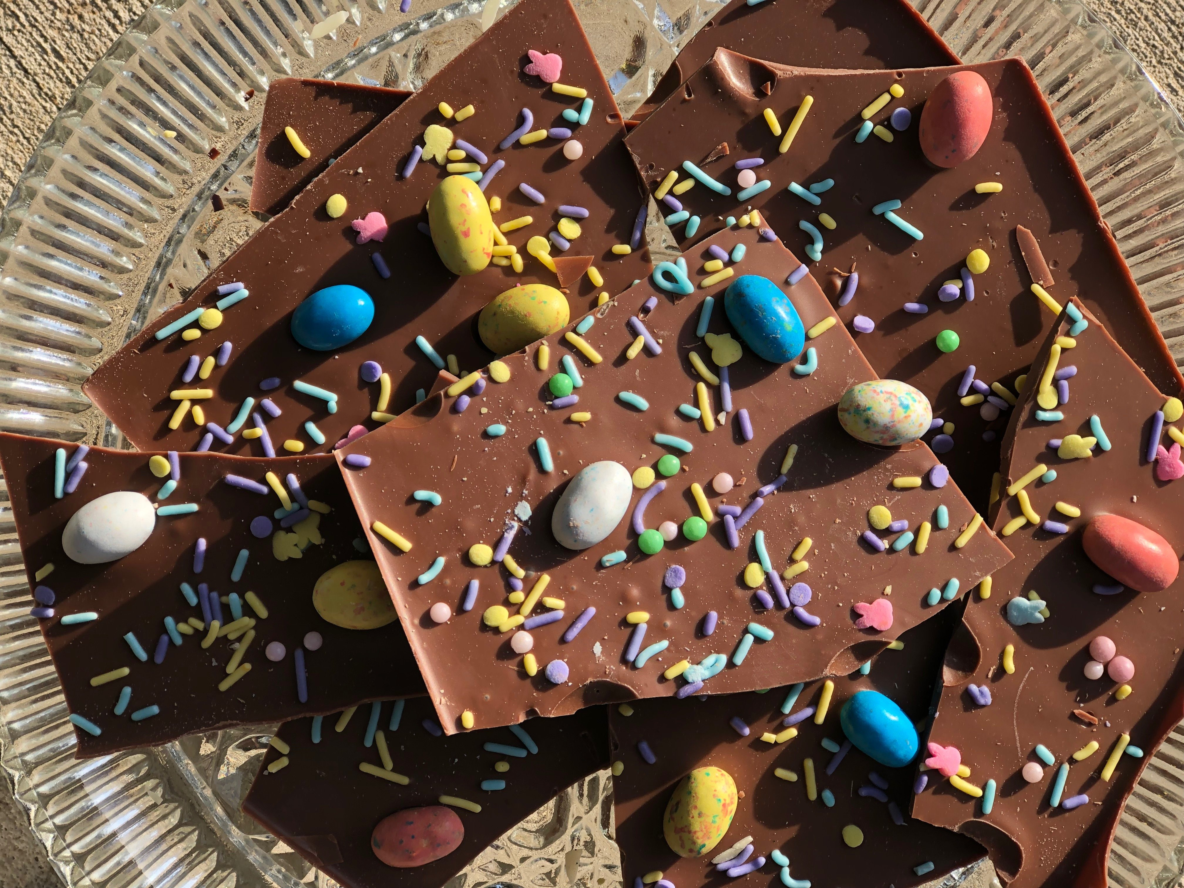 Spring Chocolate Tip: Make Your Own Bunny Bark At Home